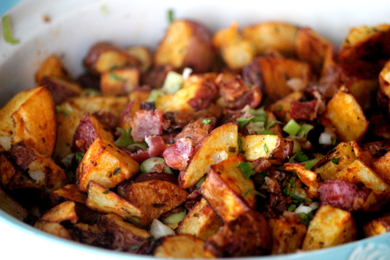 Roasted Potato Salad with Balsamic Tarragon Dressing