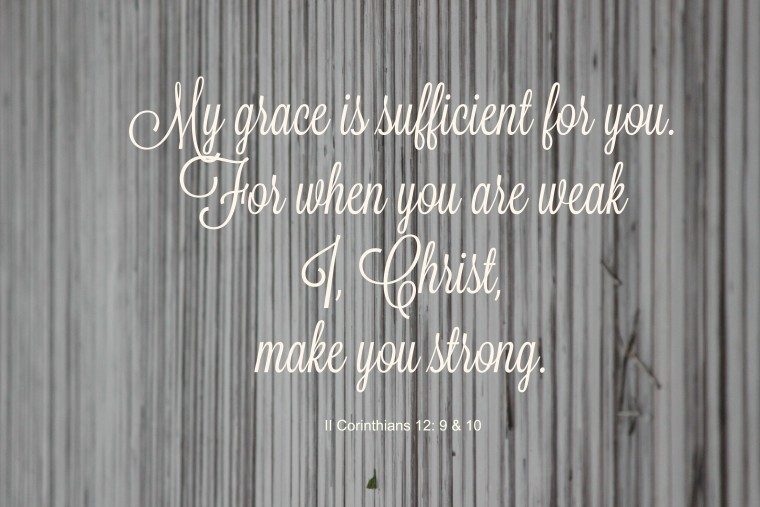 gracechristsufficient